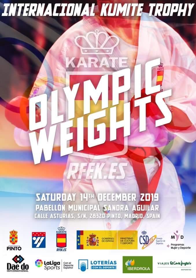 Kumite Pesos Olímpicos / Olympic Weights