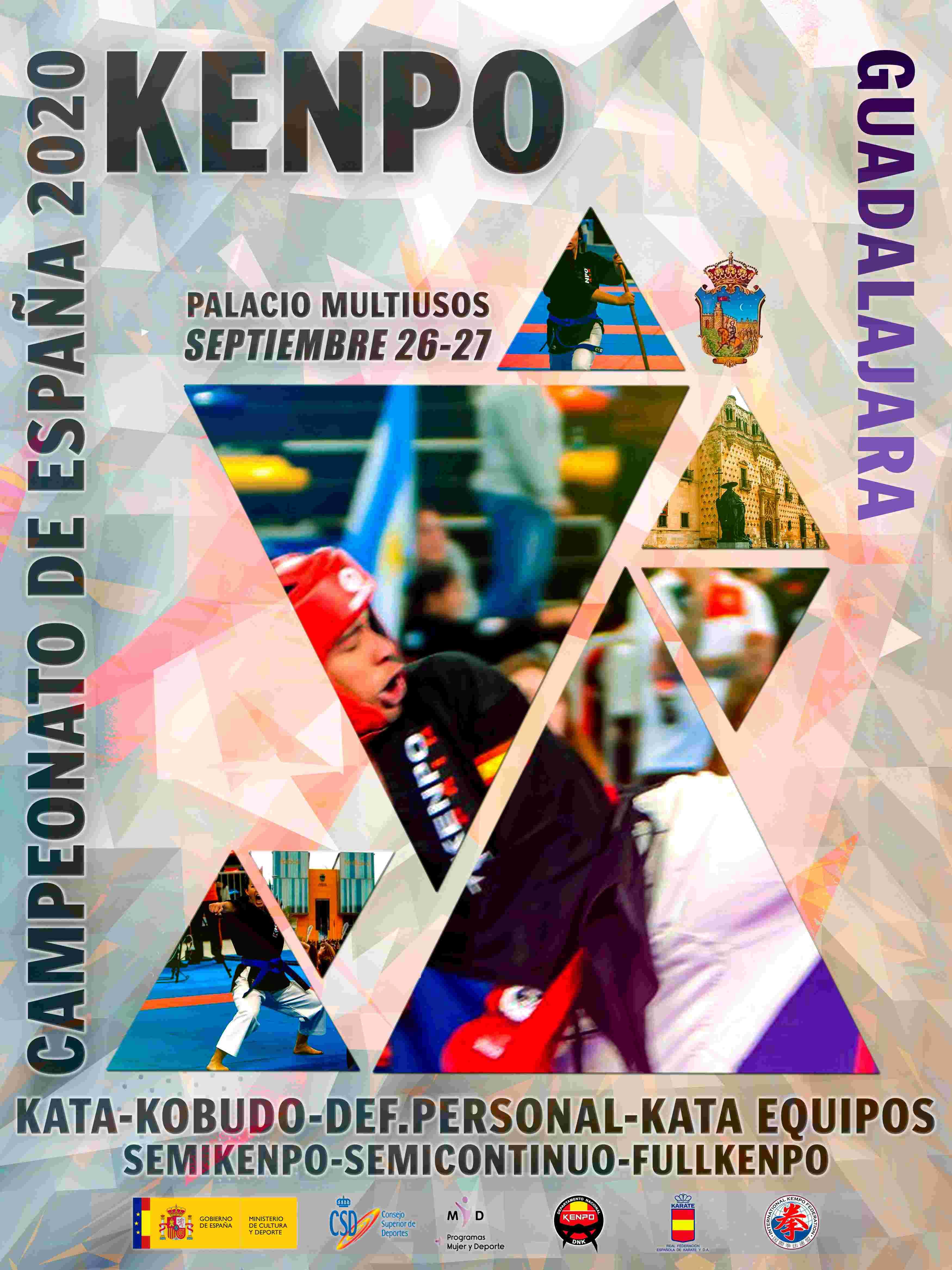 Campeonato de España de Kenpo 2020