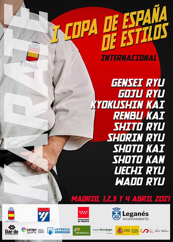 Copa de España de Kata por estilos 2021