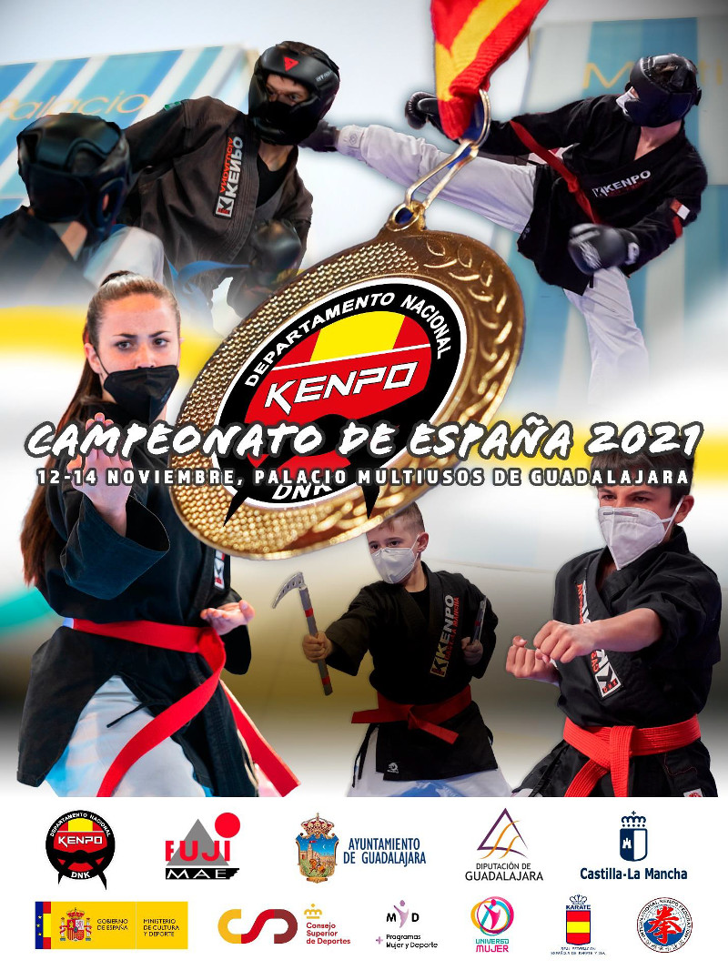 Campeonato de España 2021 Kenpo