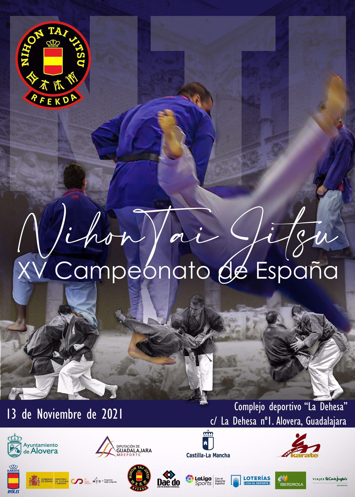 Campeonato de España 2021 Nihon-Taijitsu